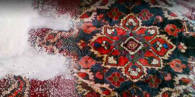 شستشو سنتی فرش